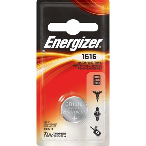 ENERGIZER CR1616 lithiová baterie knoflíková; 1ks v blistru