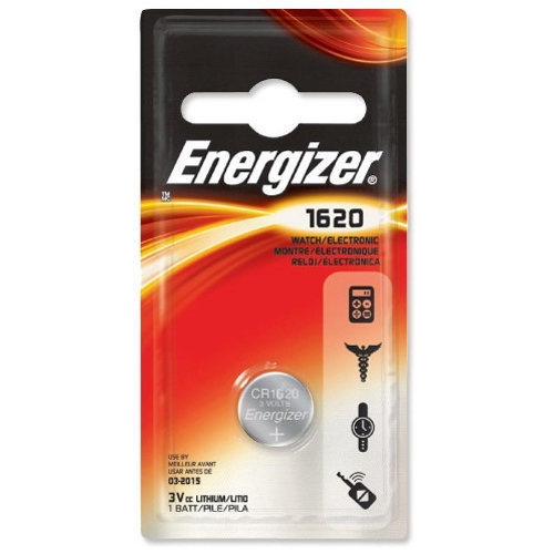 ENERGIZER CR1620 lithiová baterie knoflíková; 1ks v blistru