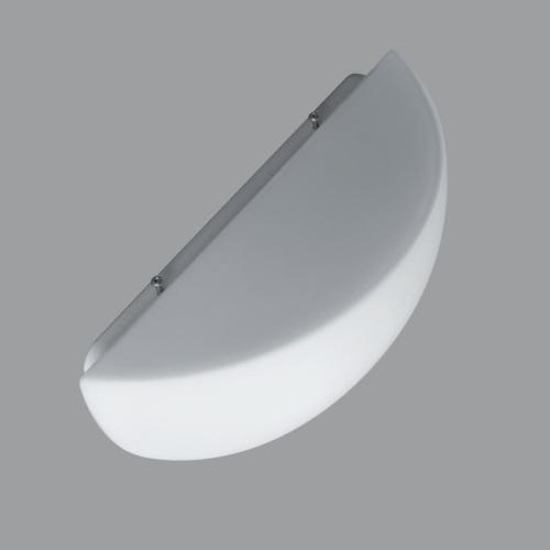 OSMONT svítidlo půlkruhové  25x12x14cm přisazené NELA 1 1x60W IP43
