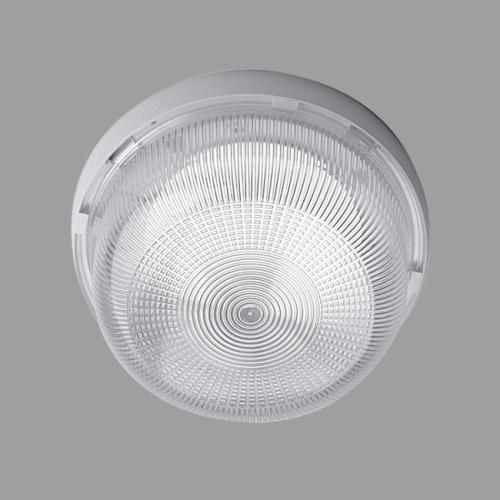 OSMONT svítidlo kruhové 21x10,5cm přisazené ELEKTRA 3 1x60W IP53 bílé