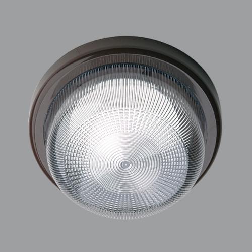 OSMONT svítidlo kruhové 21x10,5cm přisazené ELEKTRA 3 1x60W IP53 hnědé