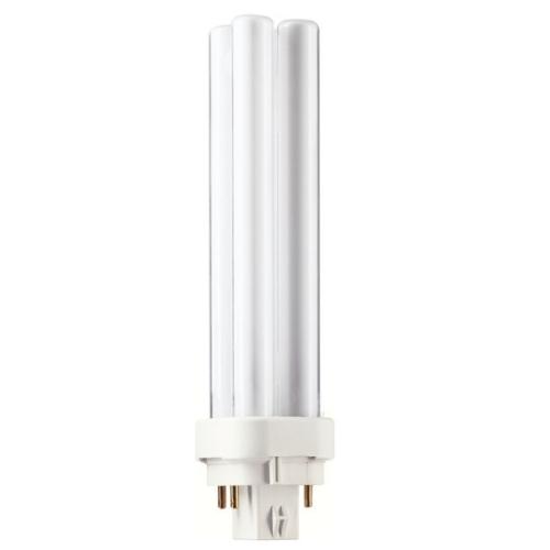 PHILIPS MASTER PL-C G24q-2 18W/840 4pin úsporná žárovka