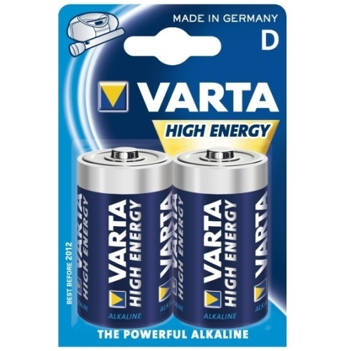 VARTA D HighEnergy baterie velký monočlánek ; LR20/ 4920