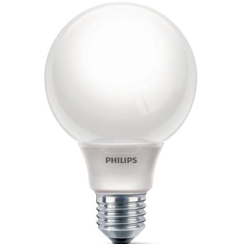 PHILIPS SOFTONE E27 16W/827 úsporná žárovka-tvar globe