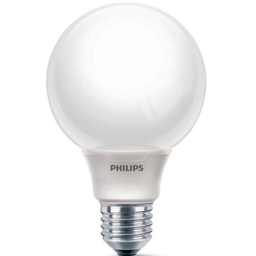 PHILIPS SOFTONE E27 20W/827 úsporná žárovka-tvar globe