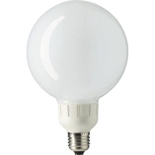 PHILIPS SOFTONE E27 23W/827 úsporná žárovka-tvar globe