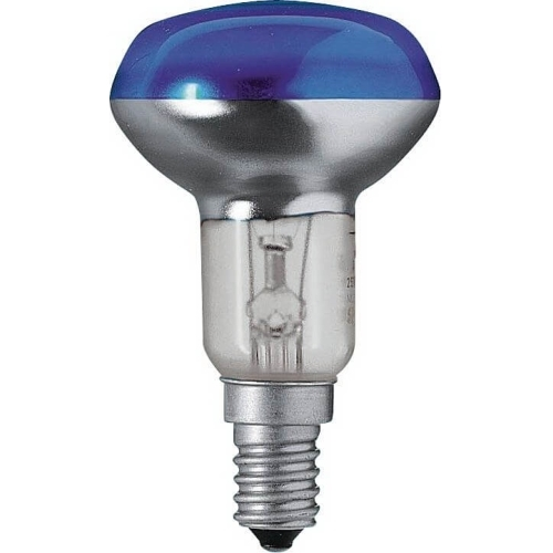 PHILIPS reflektorová žárovka 40W E14 modrá barevná Partytone