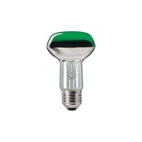 PHILIPS klasická žárovka 40W E27 zelená barevná Partytone
