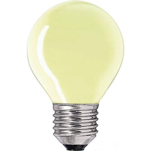 PHILIPS klasická žárovka 15W E27 žlutá barevná Partytone