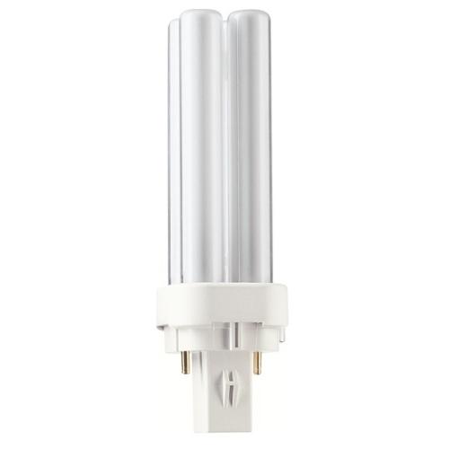 PHILIPS MASTER PL-C G24d-1 10W/840 2pin úsporná žárovka