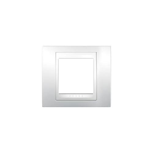 Schneider UNICAplus rám.krycí POLAR/POLAR ;  MGU600218 (MGU6.002.18)