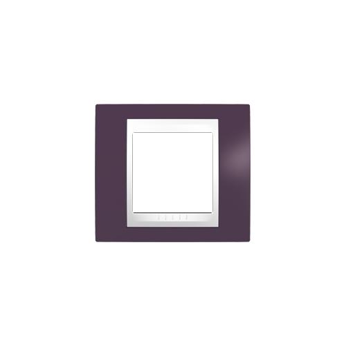 Schneider UNICAplus rám.krycí GARNET/POLAR ;  MGU6002872 (MGU6.002.872)