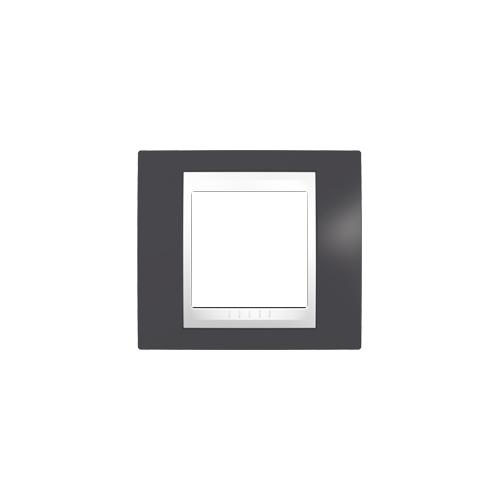 Schneider UNICAplus rám.krycí SLATE/POLAR ;  MGU6002877 (MGU6.002.877)