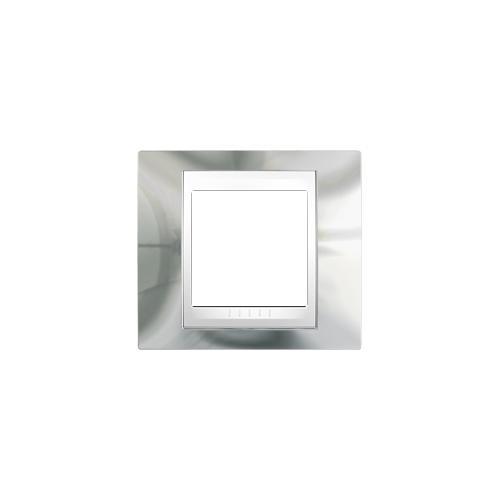 Schneider UNICAplus rám.krycí CROMO/POLAR ;  MGU66002810 (MGU6.600.2810)