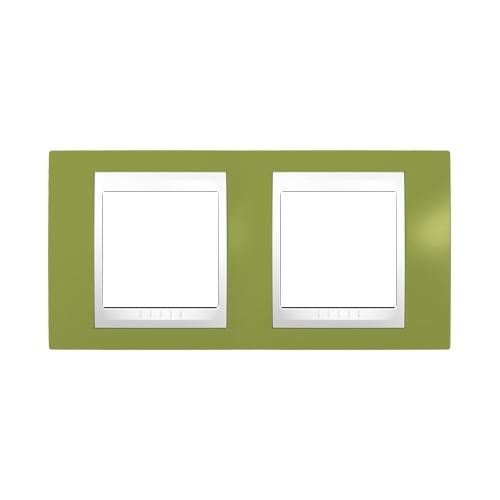 Schneider UNICAplus rám.krycí PISTACIO/POLAR ;  MGU6004866 (MGU6.004.866)