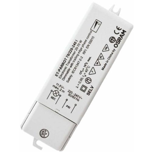 OSRAM 70W 220-240V ET PARROT trafo elektronické