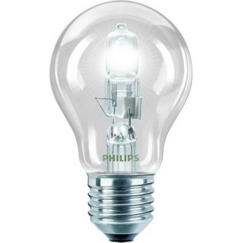 PHILIPS EcoClassic E27 53W 230V A55  halogenová žárovka