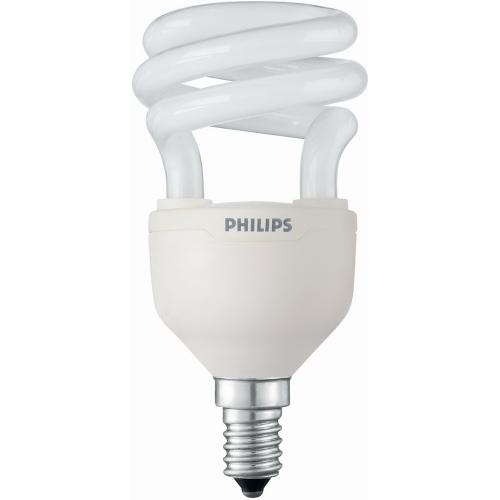 PHILIPS TORNADO E14 8W/827 úsporná žárovka