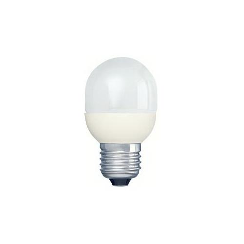 PHILIPS SOFTONE E27 7W/827 úsporná kapková žárovka