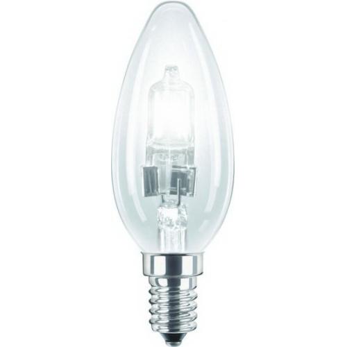 PHILIPS EcoClassic E14 28W 230V B35  halogenová svíčková žárovka