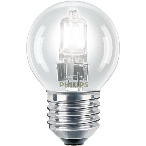PHILIPS EcoClassic E27 18W 230V P45  halogenová kapková žárovka