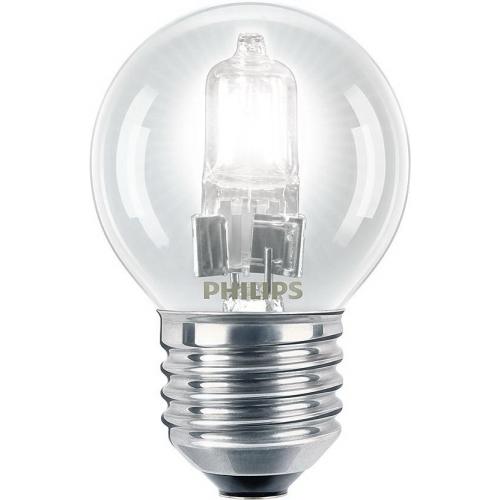 PHILIPS EcoClassic E27 28W 230V P45  halogenová kapková žárovka