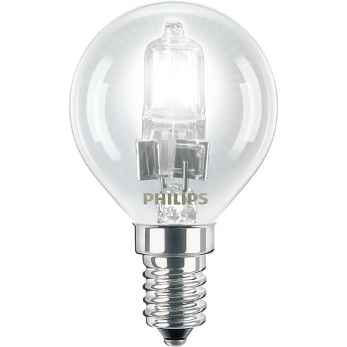 PHILIPS EcoClassic E14 18W 230V P45  halogenová kapková žárovka