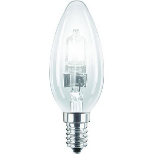 PHILIPS EcoClassic E14 18W 230V B35  halogenová svíčková žárovka