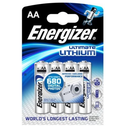 ENERGIZER AA UltimateLithium baterie tužková ; FR06/ 635233