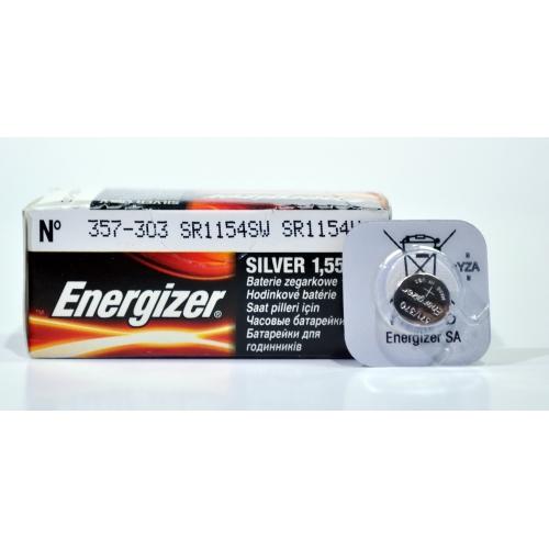 ENERGIZER baterie do hodinek 357/303 balení: 1ks v blistru