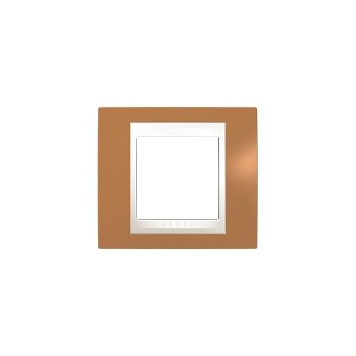 Schneider UNICAplus rám.krycí ORANGE/MARFIL ;  MGU6002569 (MGU6.002.569)