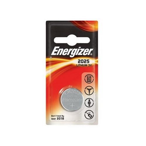 ENERGIZER CR2025 lithiová baterie knoflíková; 1ks v blistru