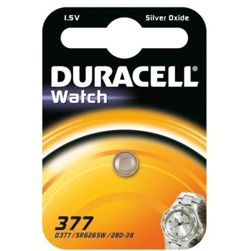 DURACELL baterie do hodinek 377 balení: 1ks v blistru
