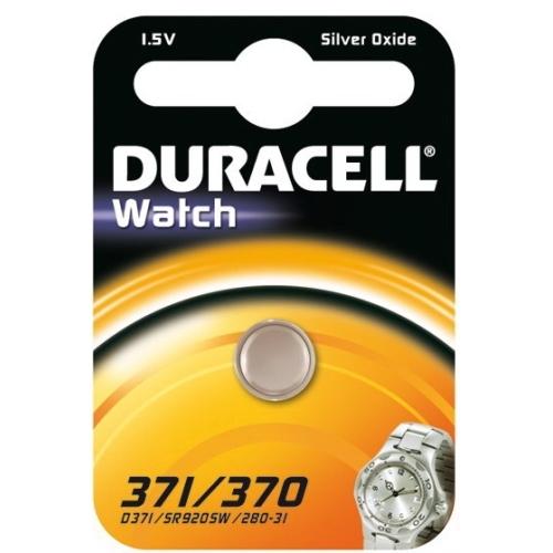 DURACELL baterie do hodinek 371/370 balení: 1ks v blistru
