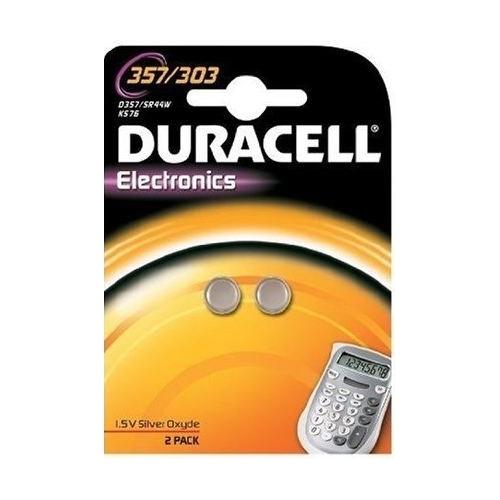 DURACELL baterie do hodinek 357/303 balení: 2ks v blistru