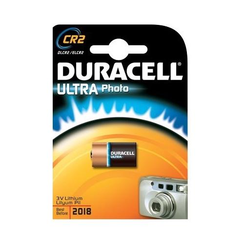 DURACELL Ultra Lithium CR2 baterie do fotoaparátu
