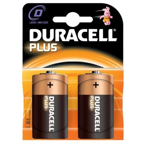 DURACELL D Plus baterie velký monočlánek ; MN1300/LR20
