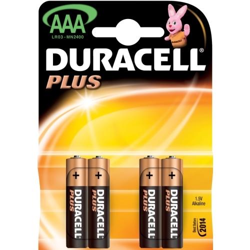 DURACELL AAA Plus baterie mikrotužková ; MN2400/LR03