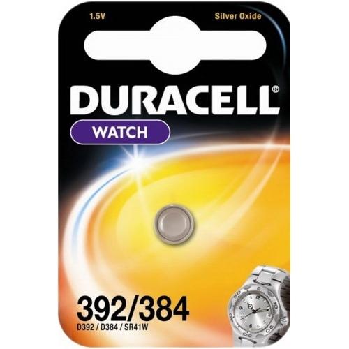 DURACELL baterie do hodinek 392/384 balení: 1ks v blistru