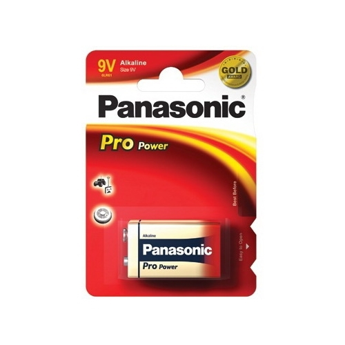 PANASONIC 9V/6LR61 ProPower baterie ; 6LR61