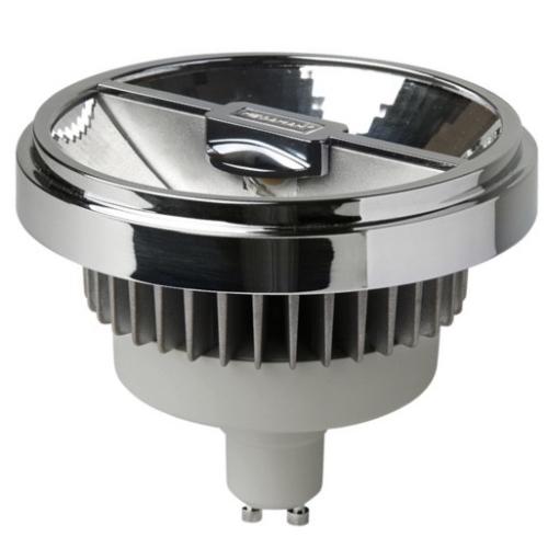 MEGAMAN GU10 15W 2800K 950lm/45° náhrada 75W; LED reflektor AR111 Dim LR1815d