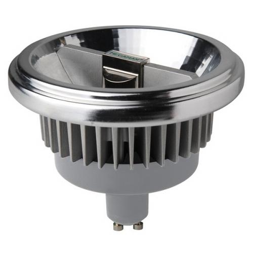MEGAMAN GU10 15W 4000K 950lm/24° náhrada 75W; LED reflektor AR111 Dim LR1615d