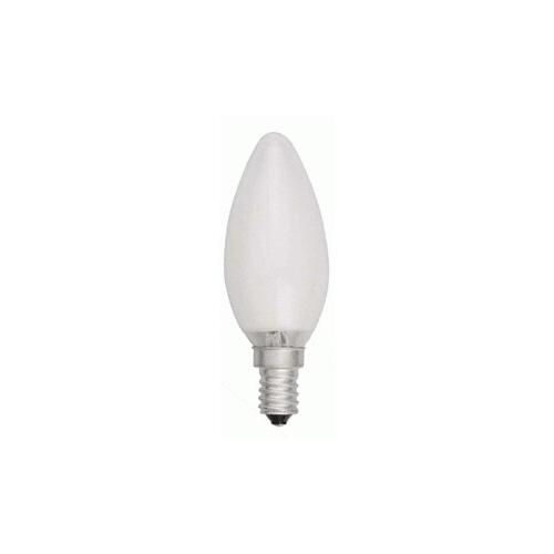 TOPLUX svíčková žárovka matná 25W 230V E14, klasická matná svíčková žárovka