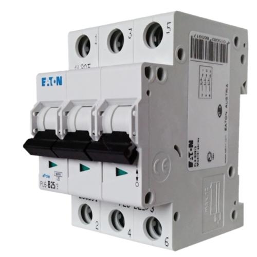 EATON jistič 3P 20A B 6kA 230/400V; PL6-B20/3 286590 jistič třípólový