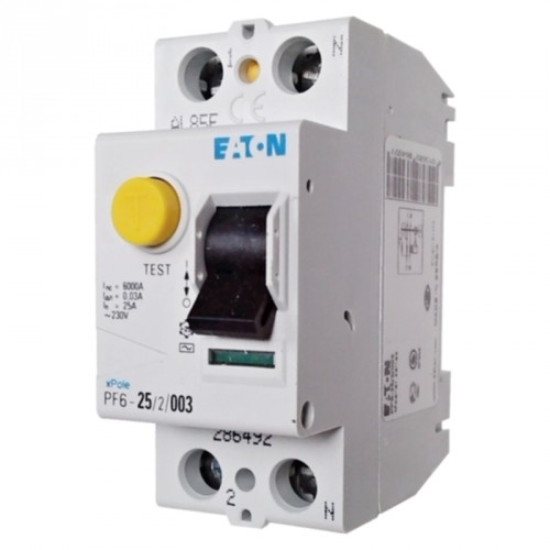 EATON proudový chránič 2P 25A 0.03A 6kA; PF6-25/2/003 286492 chránič  dvoupólový