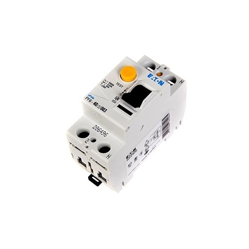EATON proudový chránič 2P 40A 0.03A 6kA; PF6-40/2/003 286496 chránič dvoupólový