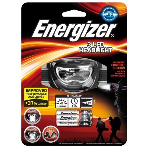 Energizer svítilna čelová 3LED Headlight