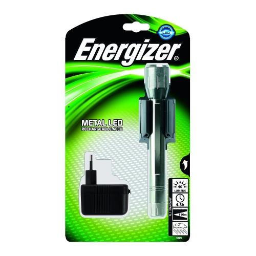 Energizer svítilna nabíjecí Rechargeable Metal LED