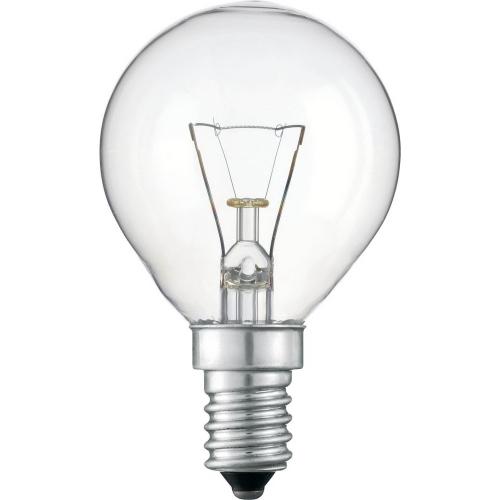 TOPLUX kapková žárovka 25W 230V E14 , klasická čirá kapková žárovka