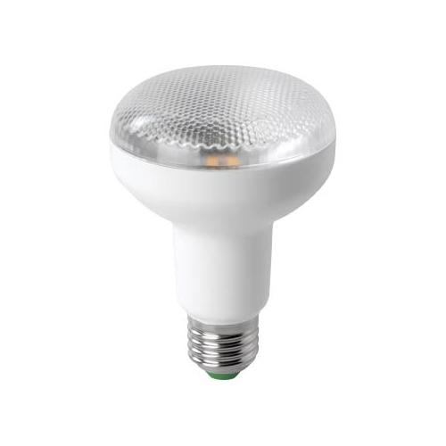 MEGAMAN E27 R80 7W 2800K 520lm/90° náhrada 48W; LED žárovka-reflector LR4307